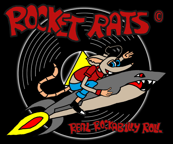Comic Logo der RocketRats